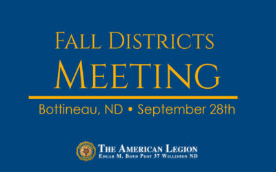 Fall Districts Meeting