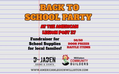 Back to School Party & Fundraiser