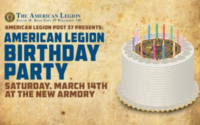 American Legion Birthday Party
